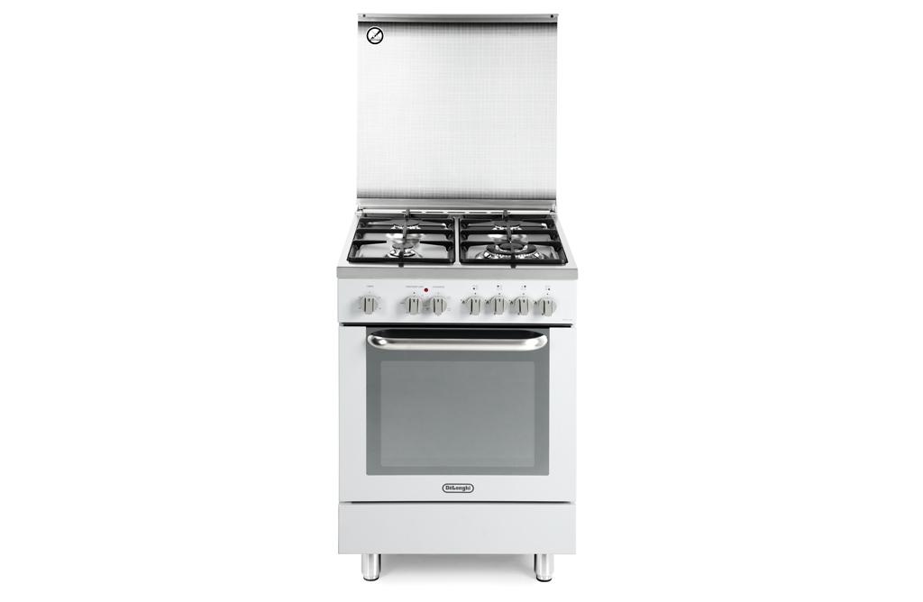 Cucina delonghi demw 664 4 fg forno elettrico colore bianco ebay - Cucina elettrica de longhi ...