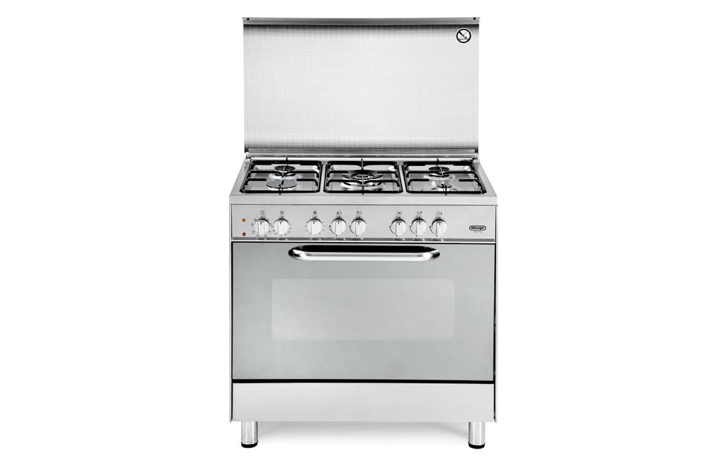 Cucina de longhi demx 855 4 fuochi forno elettrico colore - De longhi cucine modelli ...