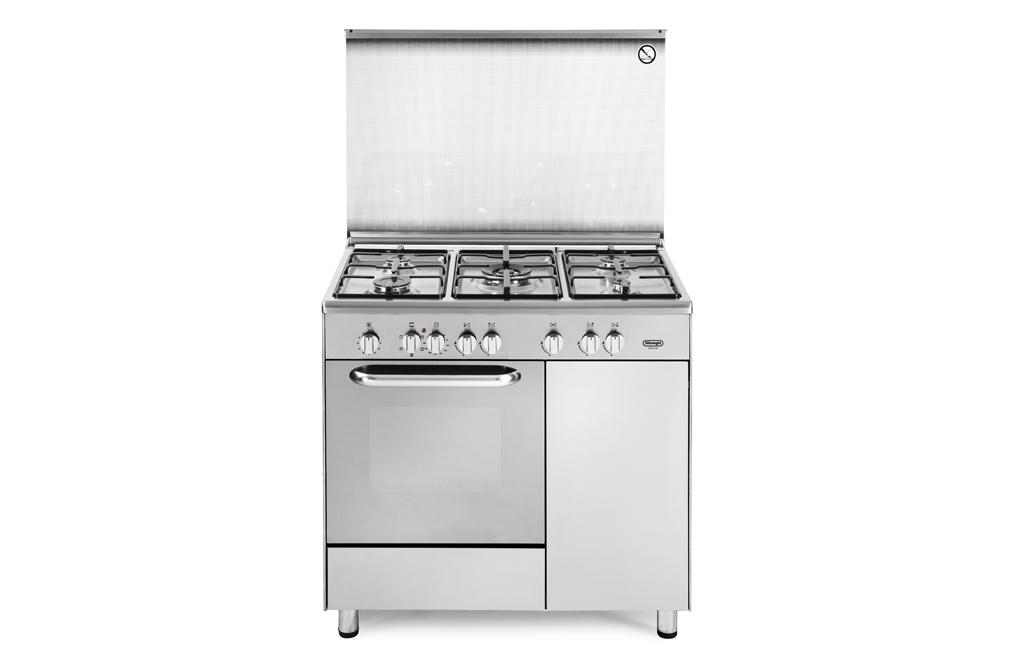 Cucina de longhi demx 965b 5 fuochi forno elettrico colore - Cucina piano cottura e forno ...