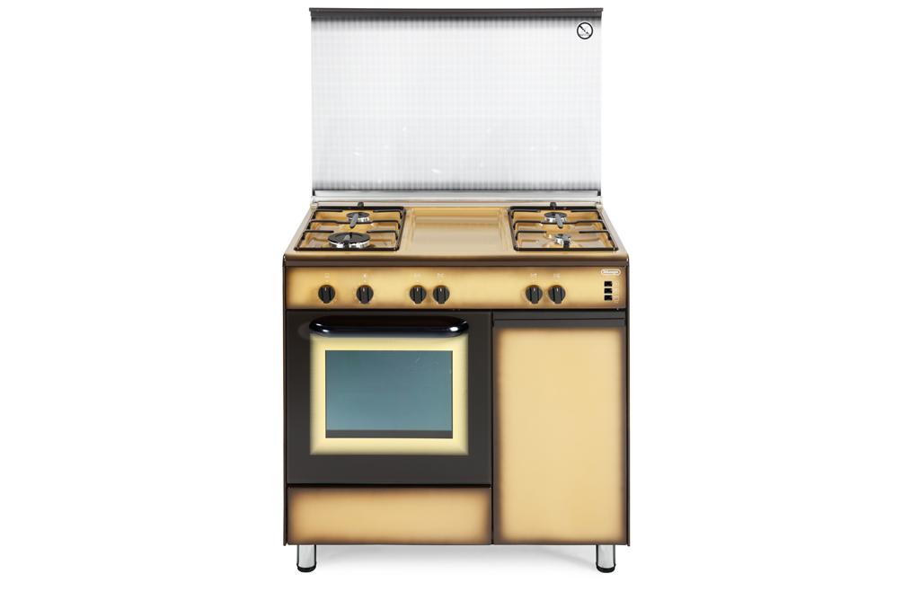 Cucina A Gas Con Portabombola Usata.Dgk 964 B De Longhi Cookers