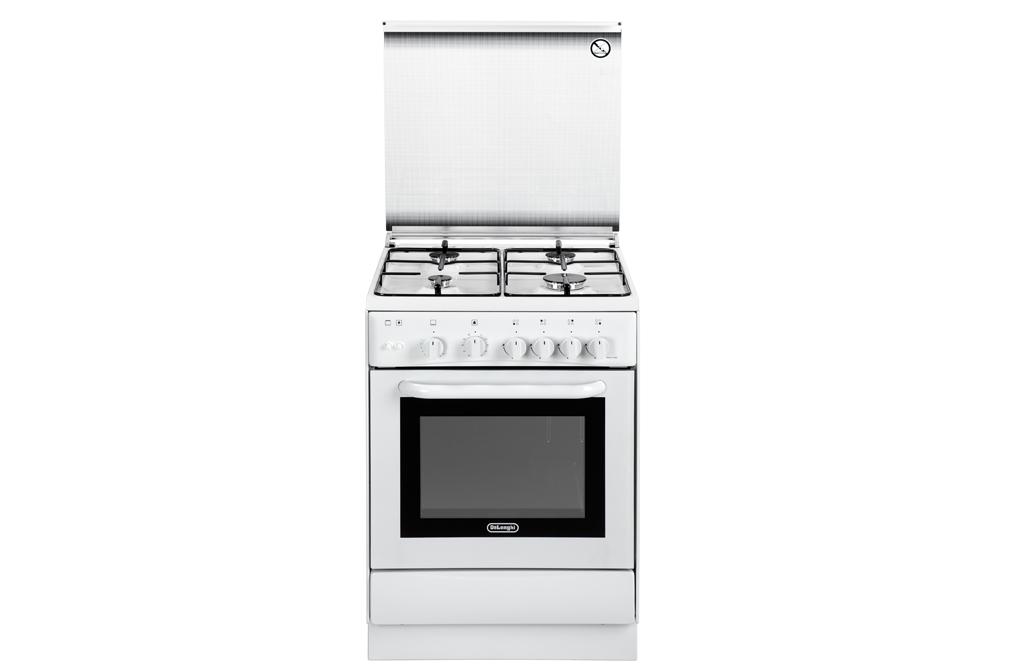 Cucina de longhi dgw 664 4 fg forno gas colore bianco ebay - De longhi cucine modelli ...