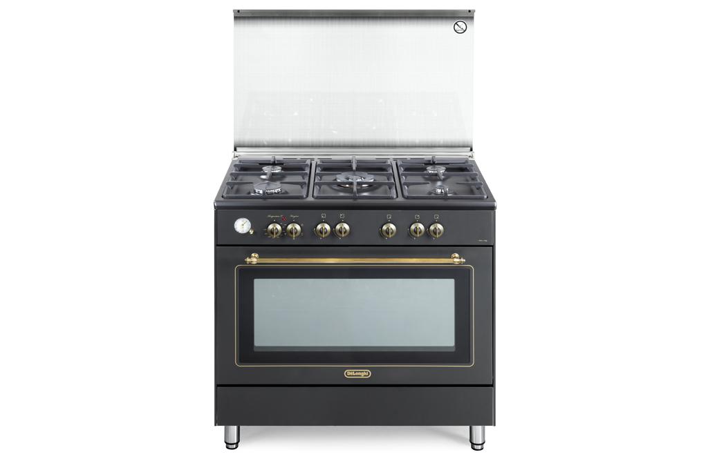 Cucina de longhi pema 965c 4 fuochi 1trip corona forno elettrico country ebay - Cucina elettrica de longhi ...