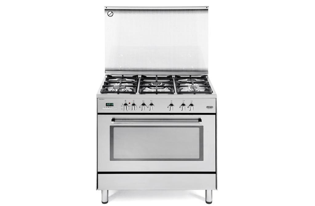 Cucina de longhi pemx 965 a 5 fuochi maxiforno elettr - De longhi cucine modelli ...