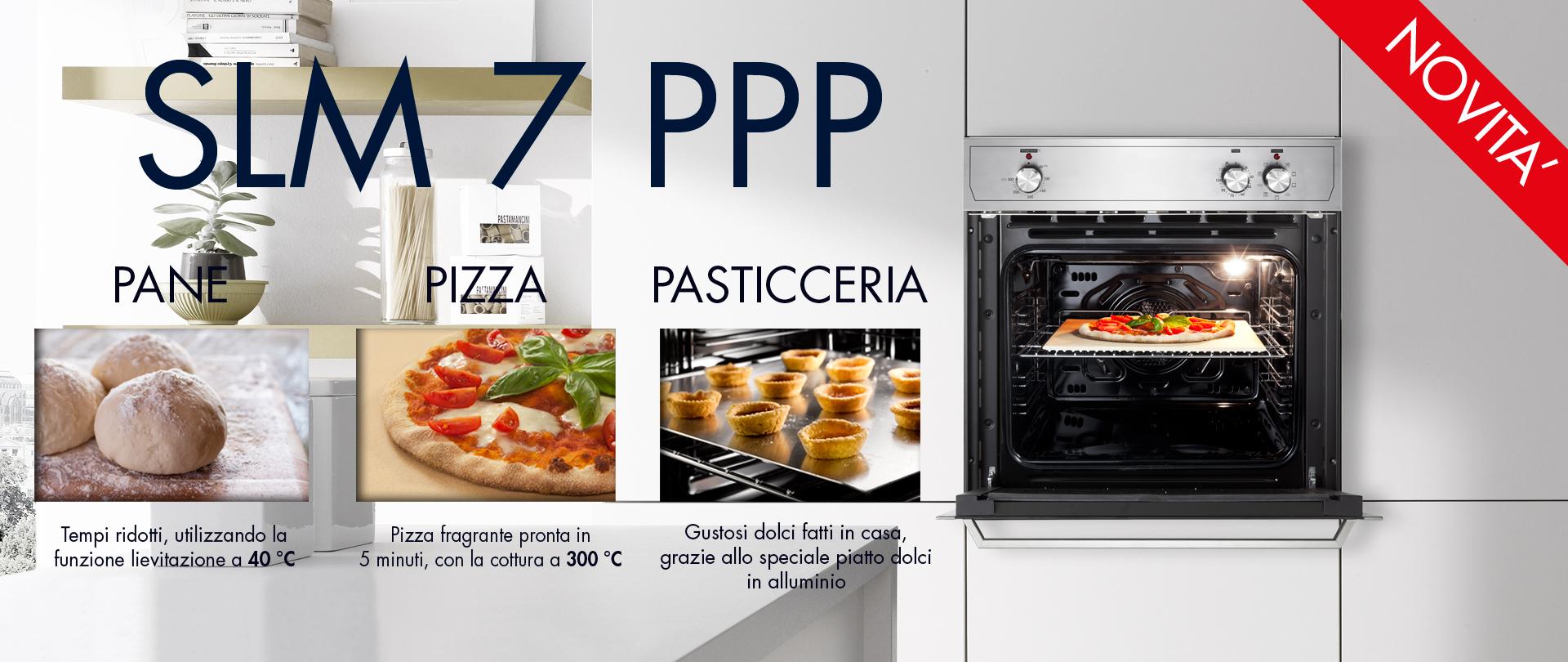 """Forno Elettrico SLM 7 PPP """"PIZZA, PANE, PASTICCERIA"""""""