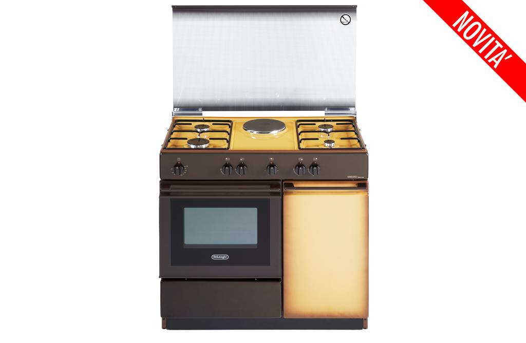 Cucina de longhi sek 8541 4 fuochi forno elettrico coppertone - De longhi cucine modelli ...