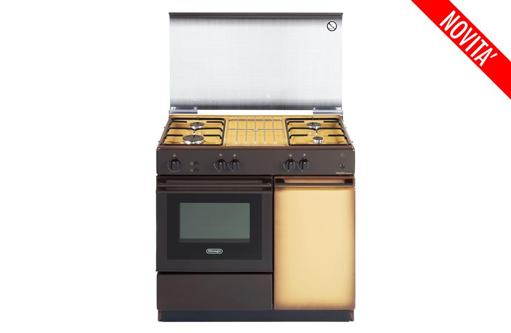 Cucina de longhi sggk 854n 4 fuochi forno a gas colore - De longhi cucine modelli ...