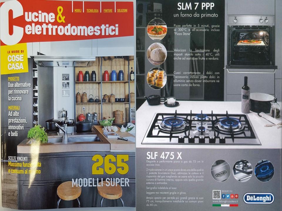 Delonghi cottura sulla rivista cose di casa de 39 longhi for 2 case di storia in vendita vicino a me