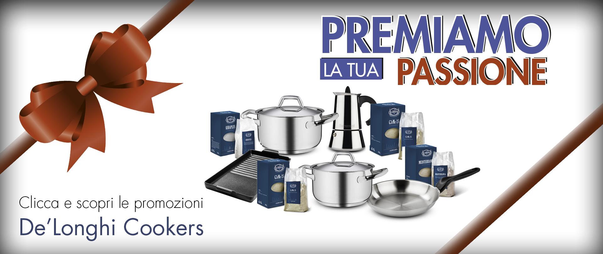 Promozioni De'Longhi Cookers 2019