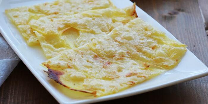 Aperitivo alternativo – patate alla savoiarda