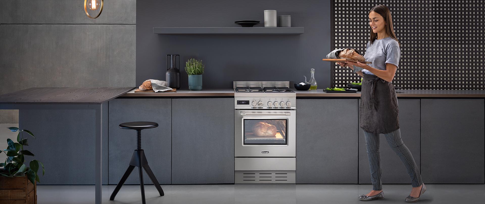 Nuova cucina freestanding De'Longhi PRO 66 MX P