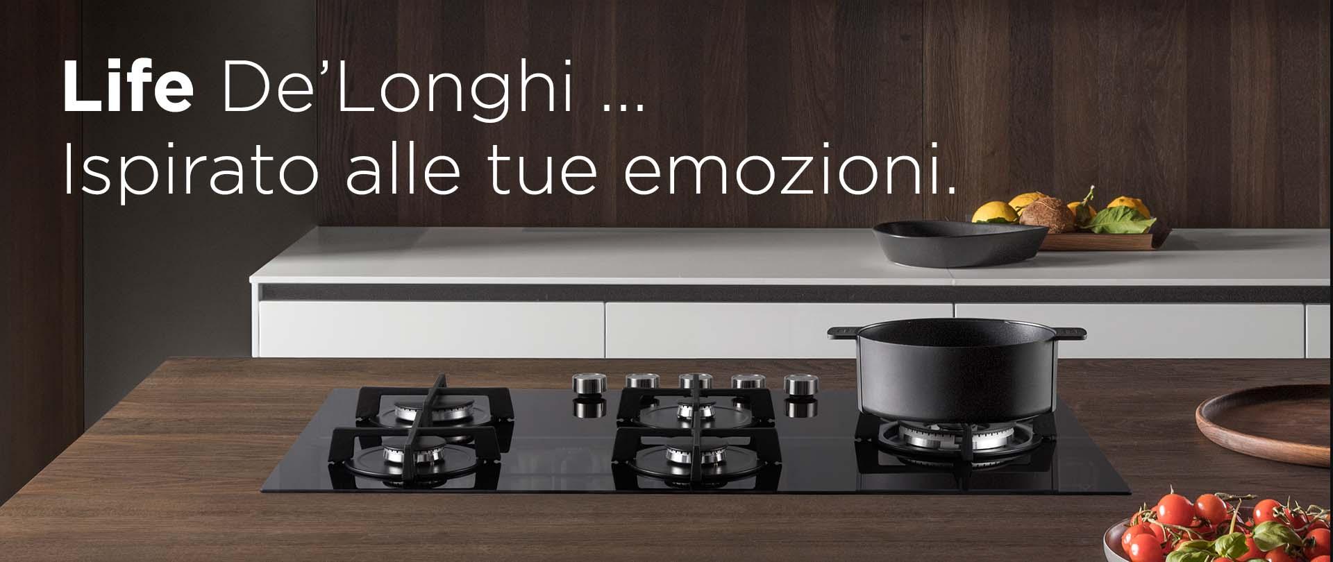 Nuova Linea Life De'Longhi – Piani cottura vetro ceramica