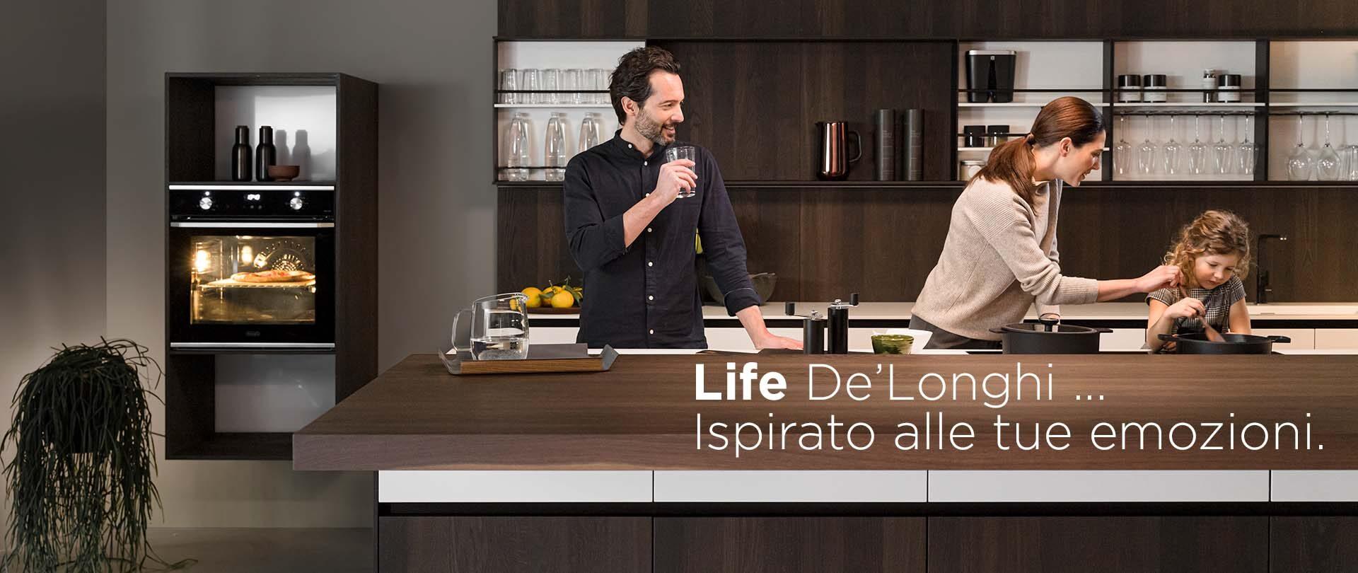 Nuova Linea Life De'Longhi – Piani cottura e Forni ad incasso